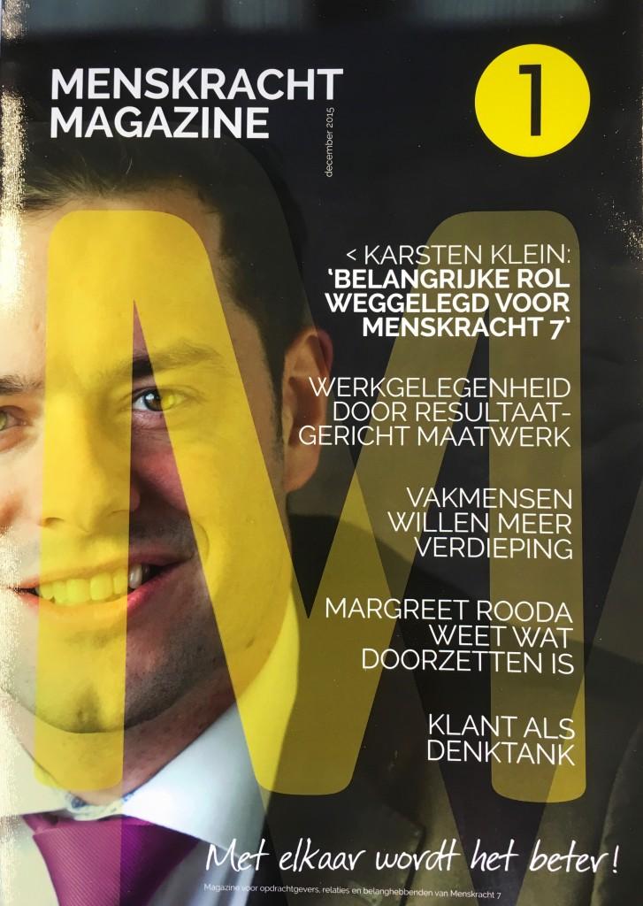 Menskracht Magazine 1